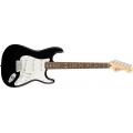 Fender - Standard Stratocaster, Black, Rosewood