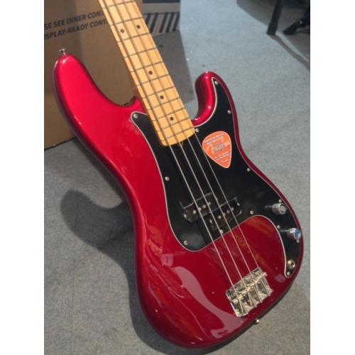 Fender - USA Special Precision Bass, Red, Maple