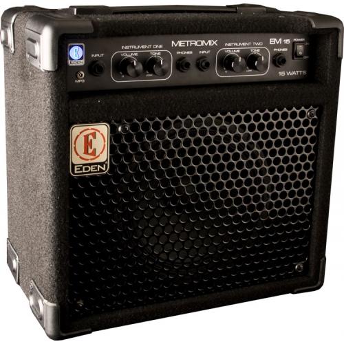 Eden - EM15 Metromix Bass Combo