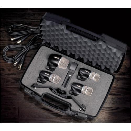 Shure - PGDMK4, Drum Microphone Kit