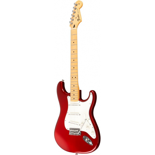Fender - Standard Stratocaster, Maple Neck, Candy Apple Red