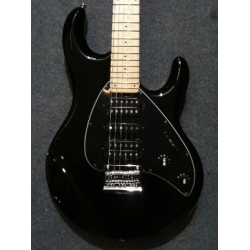 Musicman - Silhouette, Black, Fixed Tail