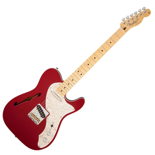 Fender - FSR Deluxe Thinline Telecaster (Candy Apple Red)