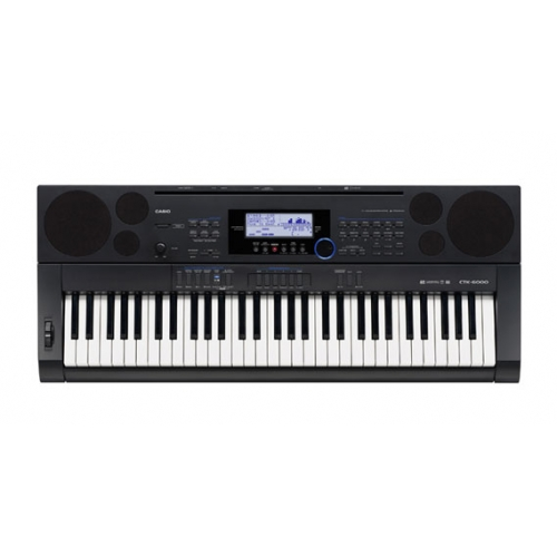 Casio - CTK 6200 New Model WITH FREE POWER ADAPTOR