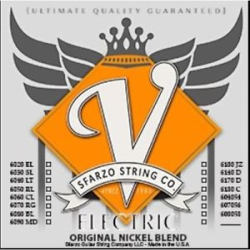 Sfarzo - Nickel Blend Vintage Electric Strings