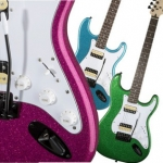 Squier - Limited Edition Affinity HH Strat (Candy Sparkle Finish)